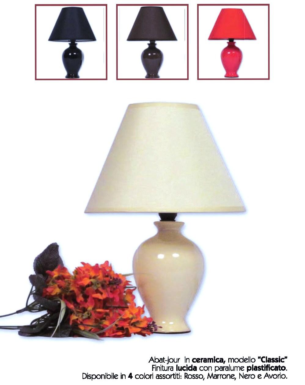 Abat jour in ceramica modello classic idea di casa - Casa abat jour ...