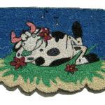 Zerbino Sagomato Mucca Ideadicasa