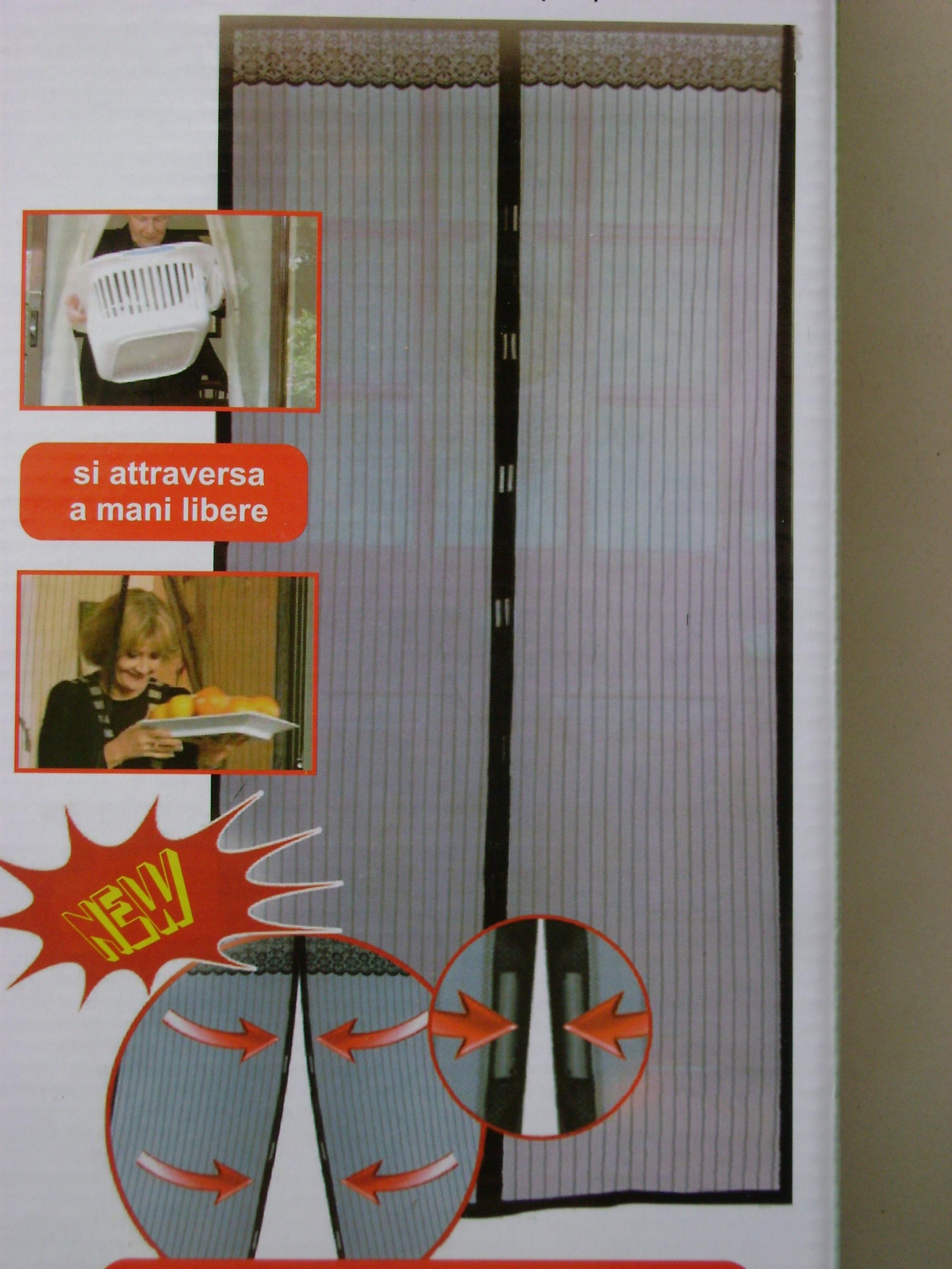 Zanzariera magnetica fly stop 120x230 idea di casa for Zanzariera magnetica ikea