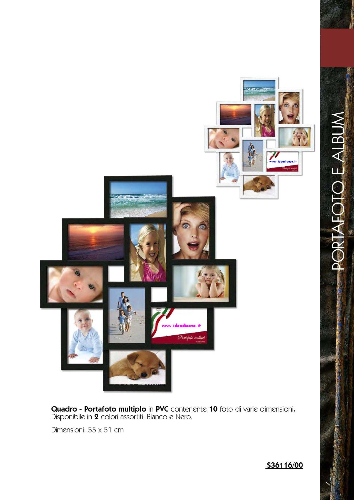quadro portafoto multiplo in pvc idea di casa arredo